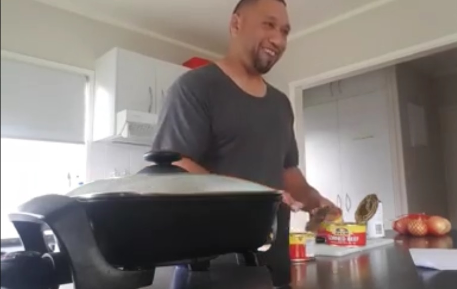 Kiwi Tongan Cooking